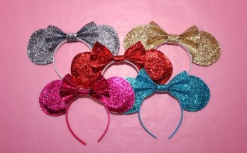 DIY Sparkle Mickey Mouse Ears for Cheap
