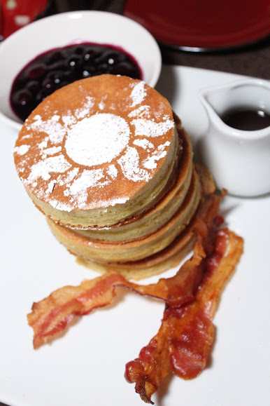 Tower of Pancakes Trattoria Al Forno