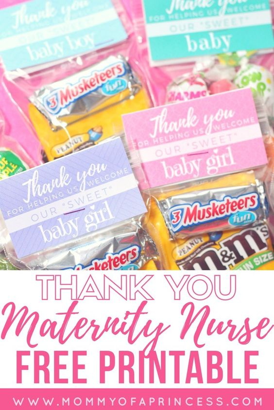 free printable thank you cards for nurses, thank you note to labor and delivery nurses, thank you note for nurses sample