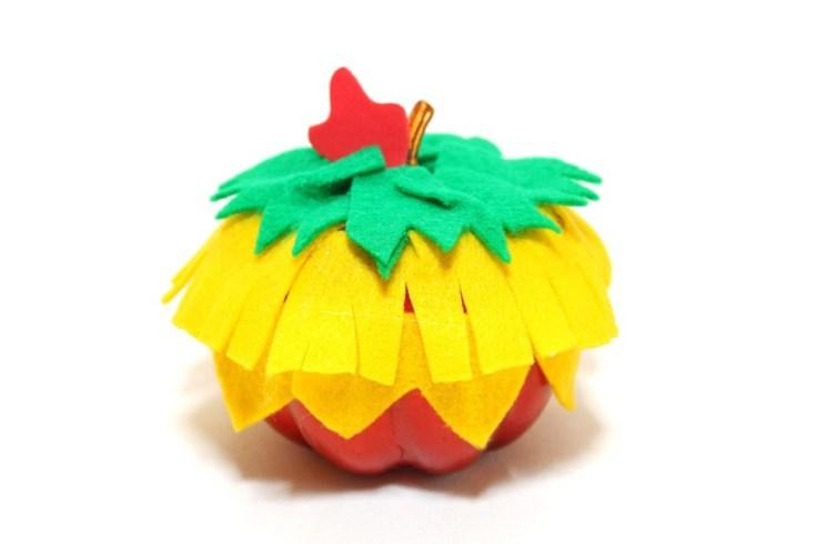 Hei Hei Moana themed pumpkin