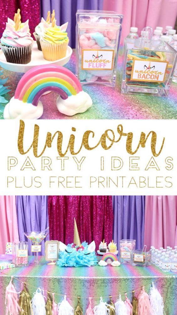Pinterest Unicorn Birthday Party