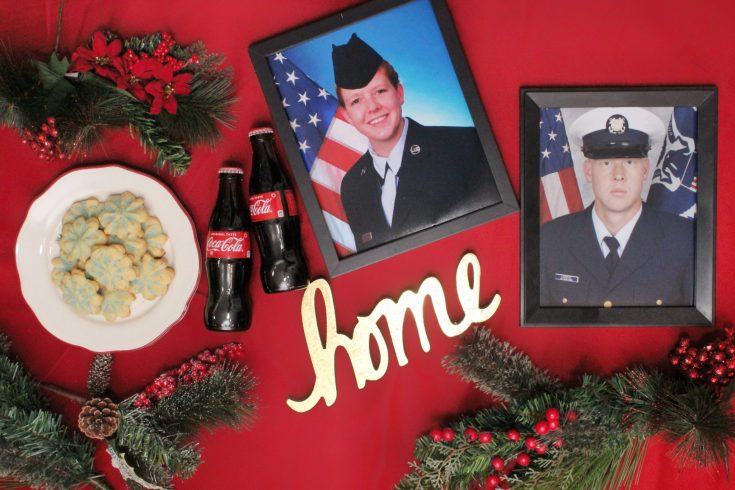 Military Family Home for the Holidays