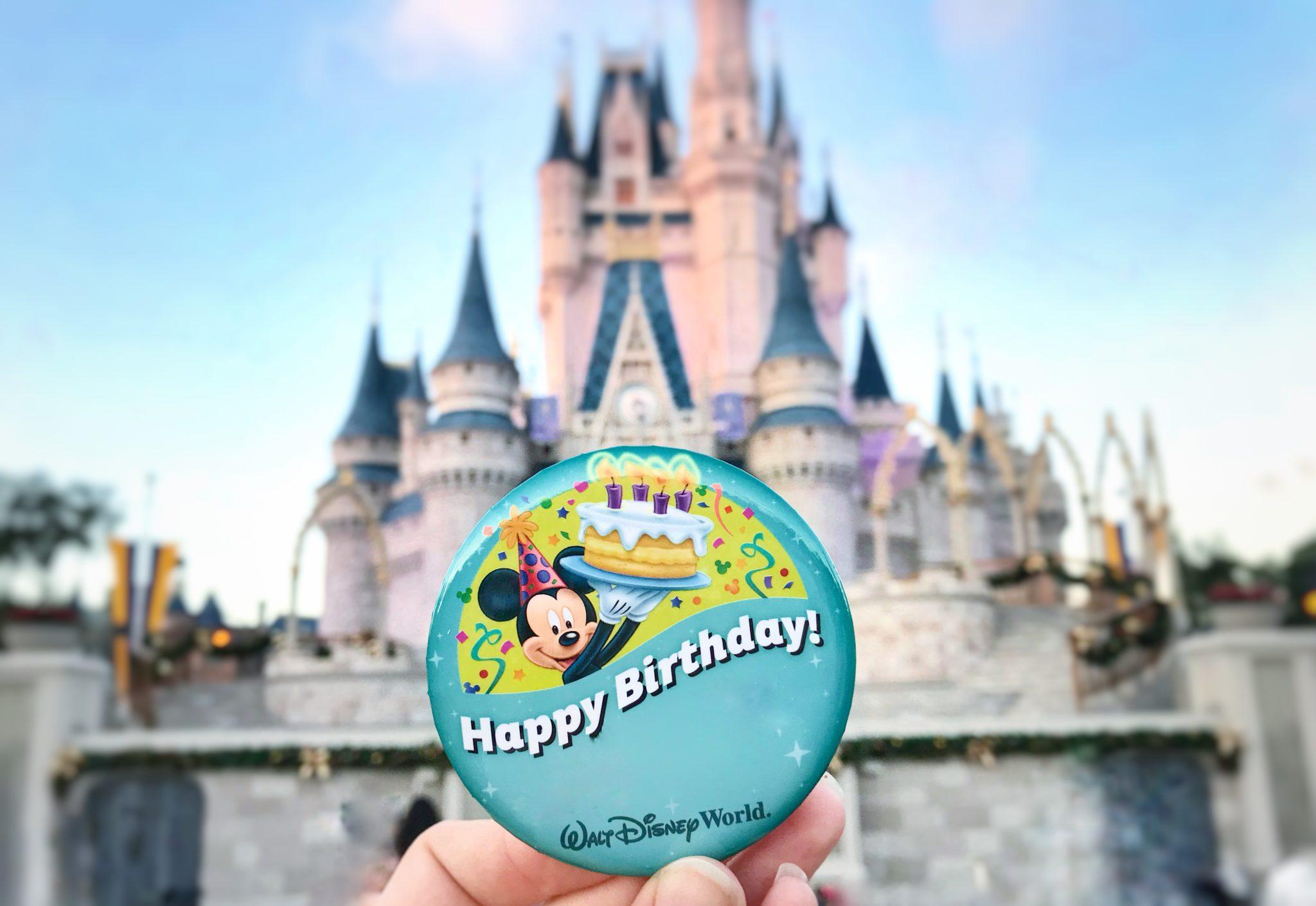 7 Free Ways To Celebrate Your Birthday At Disney World