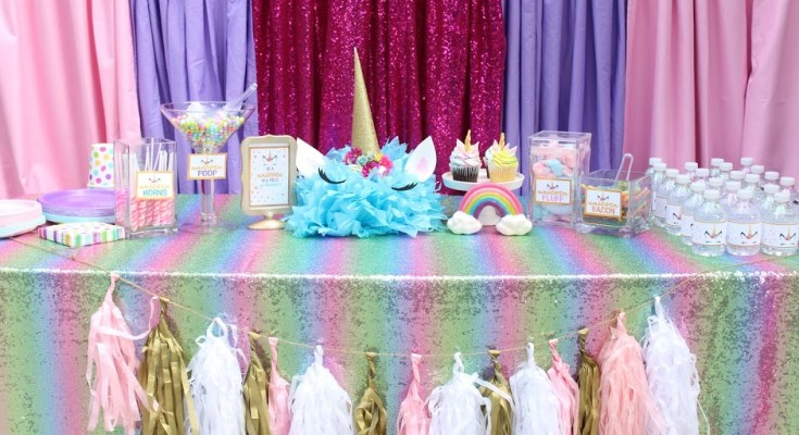 Unicorn Birthday Party Ideas & Printables