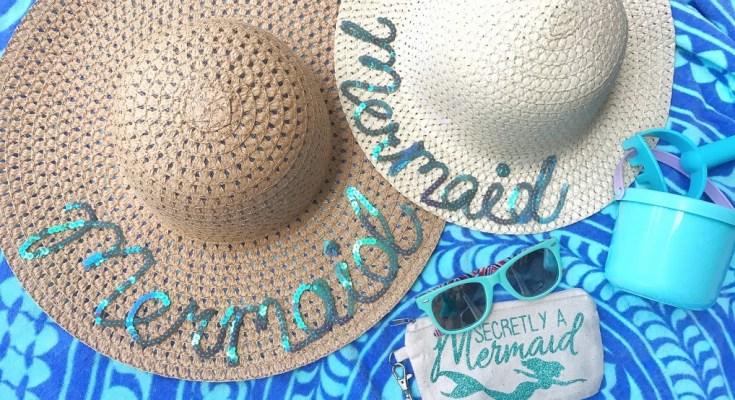 DIY Summer Mermaid Hats
