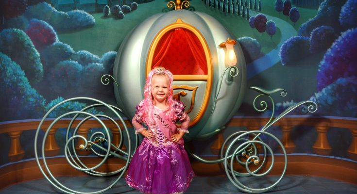 Bring Preschooler to Disney World at Bibbidi Bobbidi Boutique