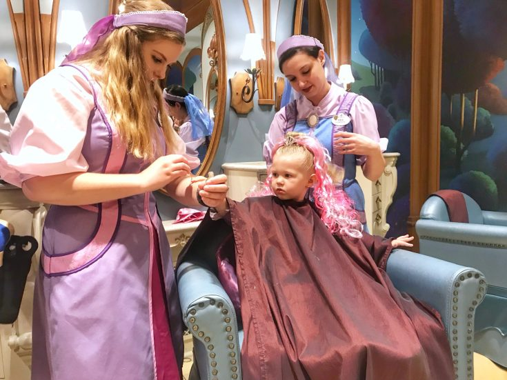Bibbidi Bobbidi Boutique for Preschoolers at Disney