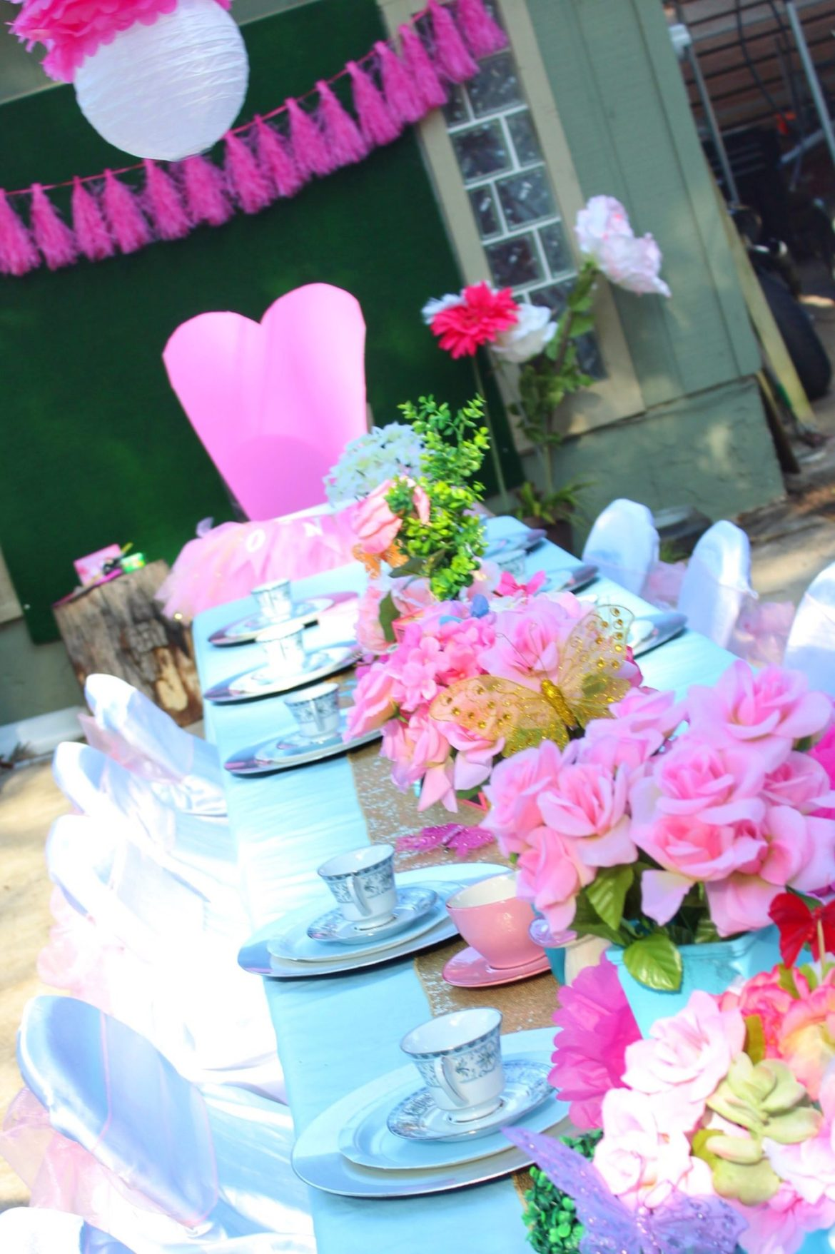 Wonderland Tea Party Birthday Ideas