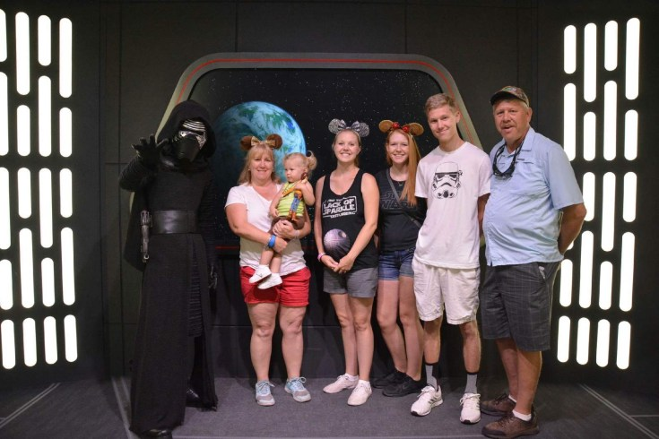 May the 4th Be With You: Celebrating Star Wars Day at Hollywood Studios Meeting Kylo Ren