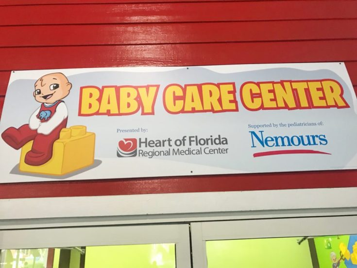 Baby Care Center: LEGOLAND Florida with a baby