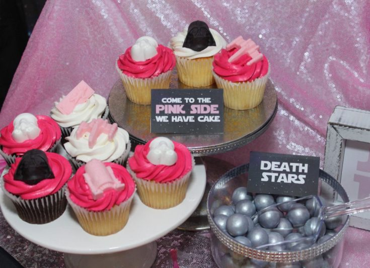Girly Star Wars DIY Cupcakes