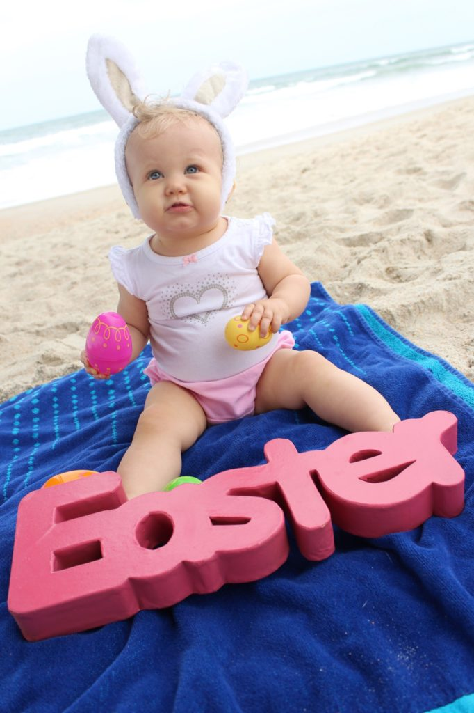 DIY Easter Photos for baby