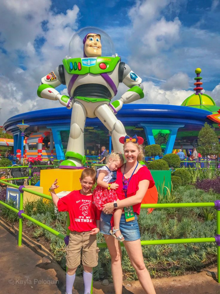 Alien Swirling Saucers Toy Story Land