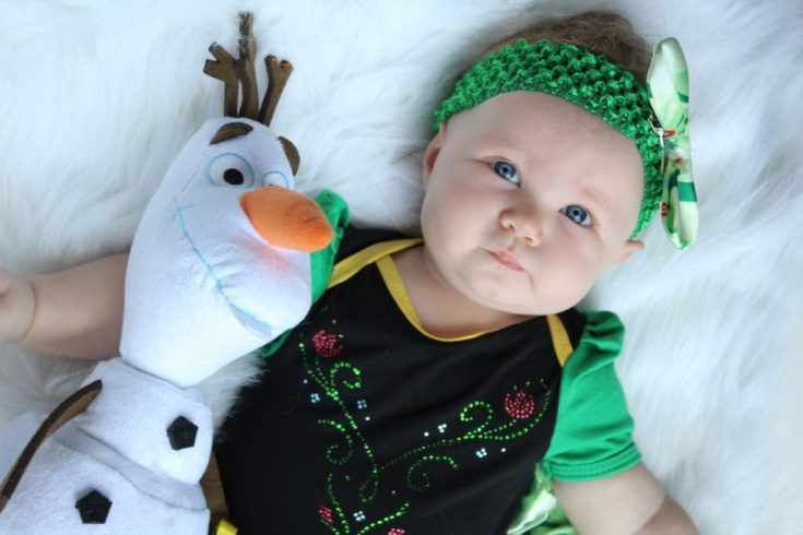 Frozen Anna Baby Photos
