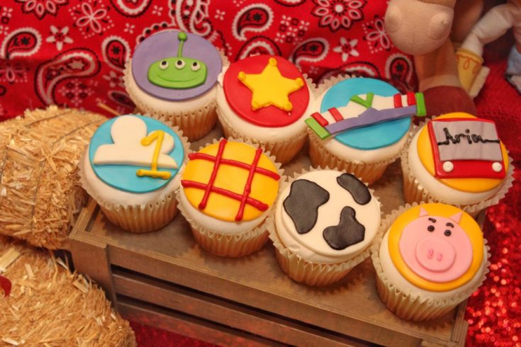 Toy Story Cupcakes Birthday Party Ideas