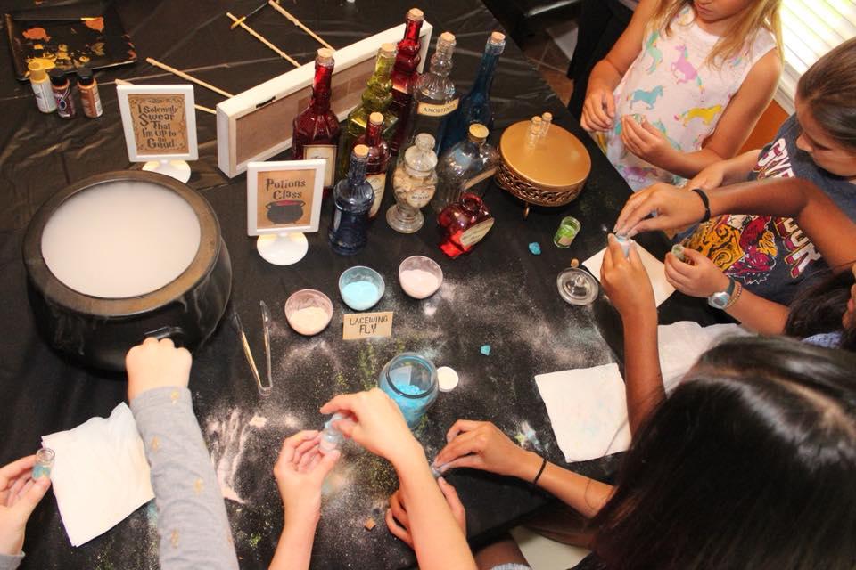 harry potter birthday party activities