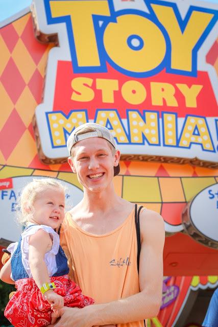 Toy Story Disney World Midway Mania