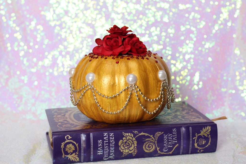 DIY Disney Princess Pumpkins: Beauty and the Beast Belle Pumpkin Ideas