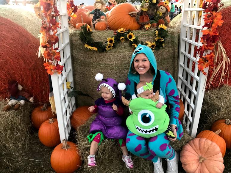 Monsters Inc Disney Family Halloween Costumes