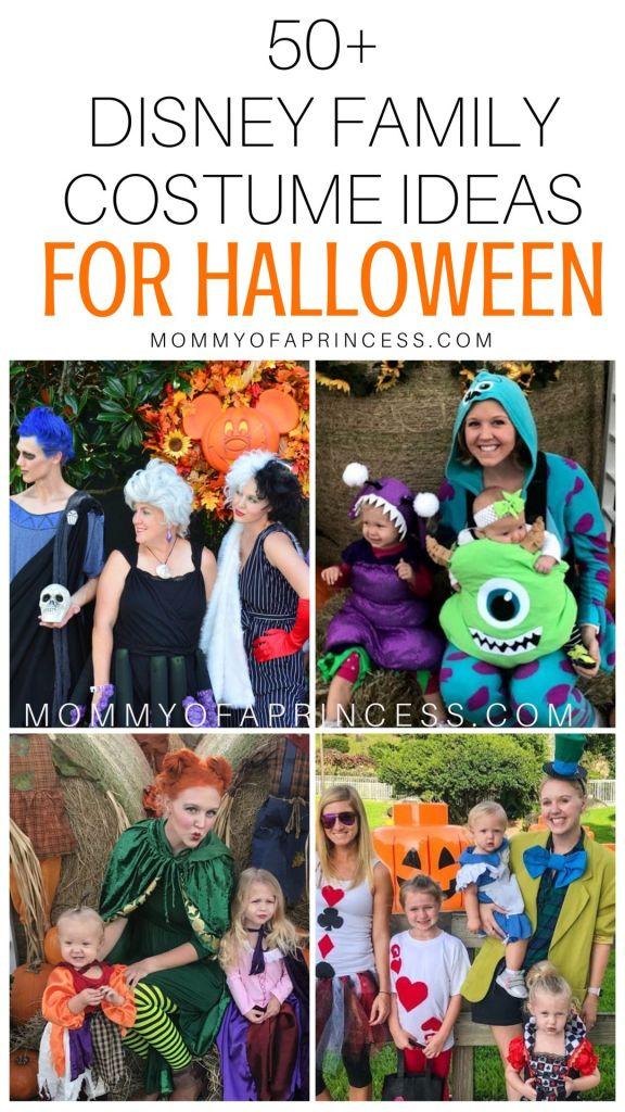 Disney Family Halloween Costumes