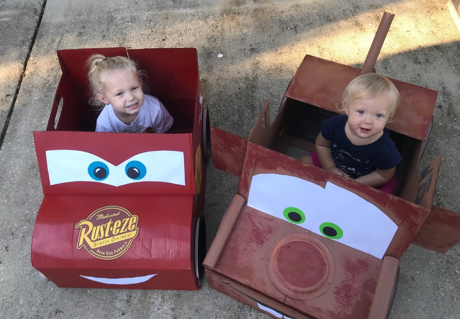 Cars DIY Halloween Costume, Disney Family Halloween Costumes