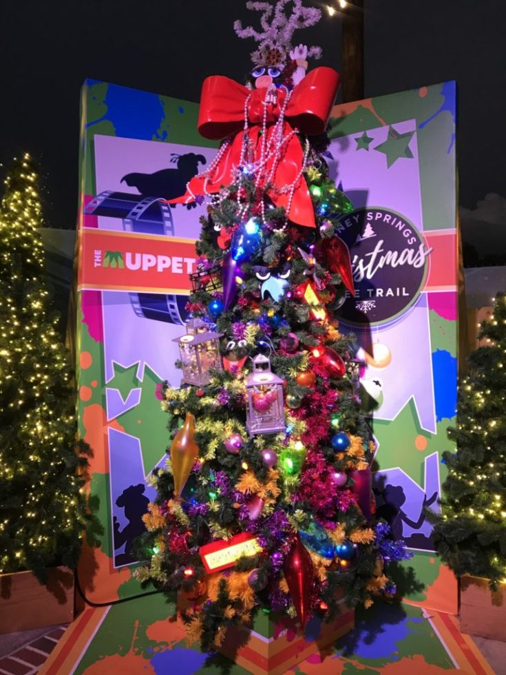 Muppets Disney Christmas Tree Trail at Disney Springs