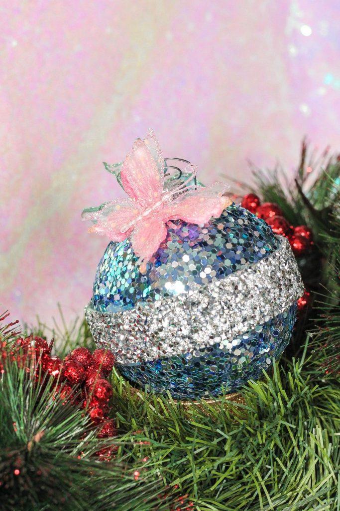 DIY Cinderella Christmas Ornament