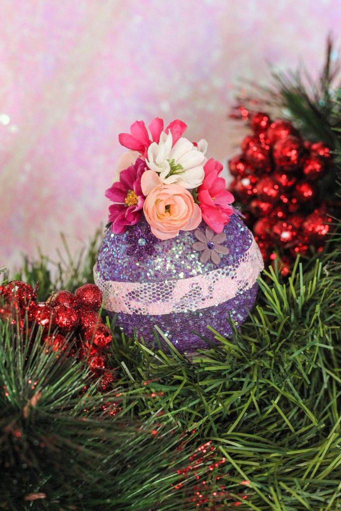 DIY Rapunzel Christmas Ornament