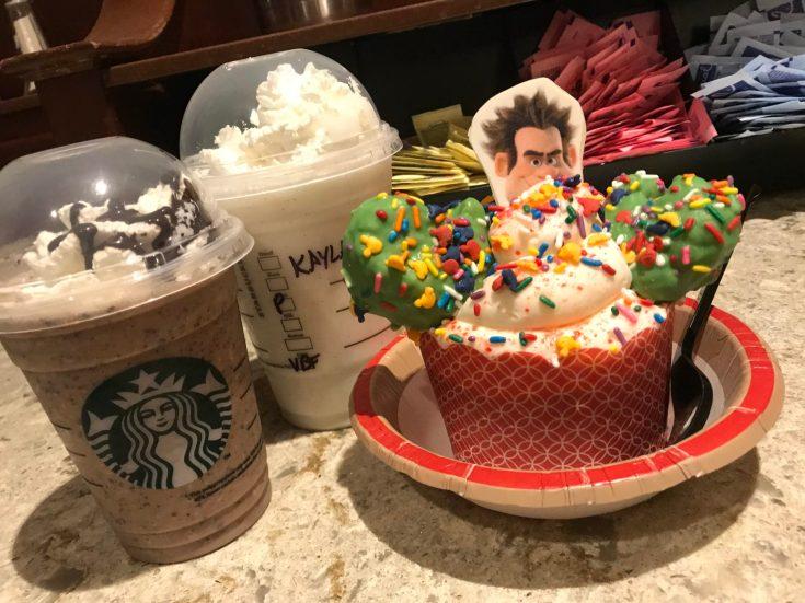Wrekc it Ralph Sugar Rush Cupcake at Mickey's Very Merry Christmas Party #VeryMerry