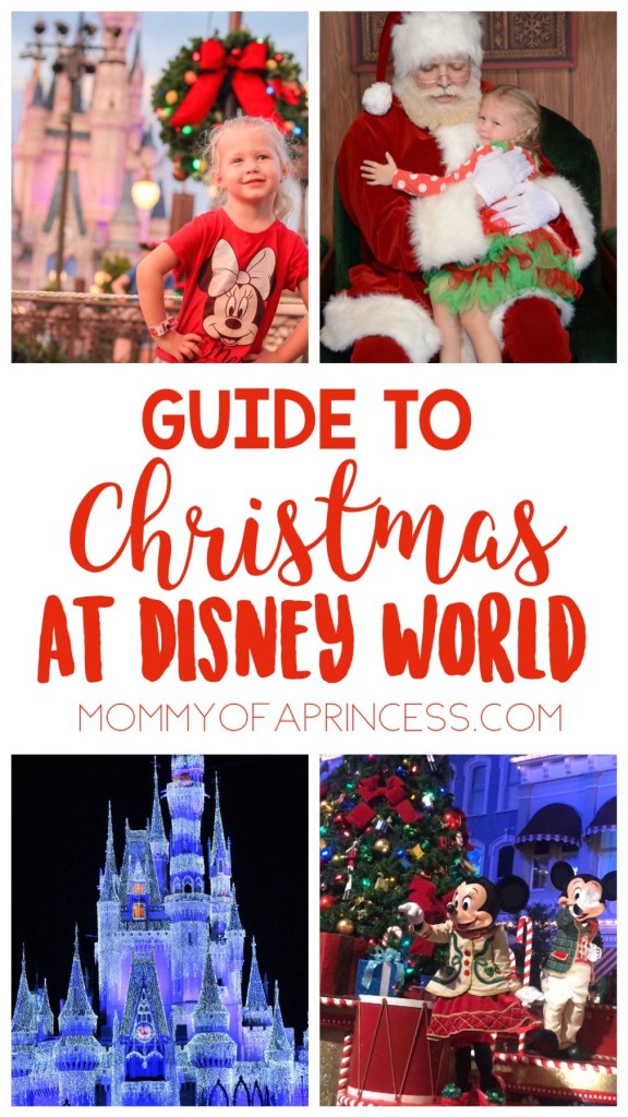 Guide to Christmas at Disney World