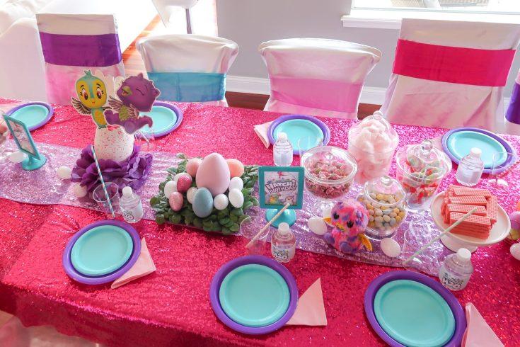 Hatchimals Party Ideas