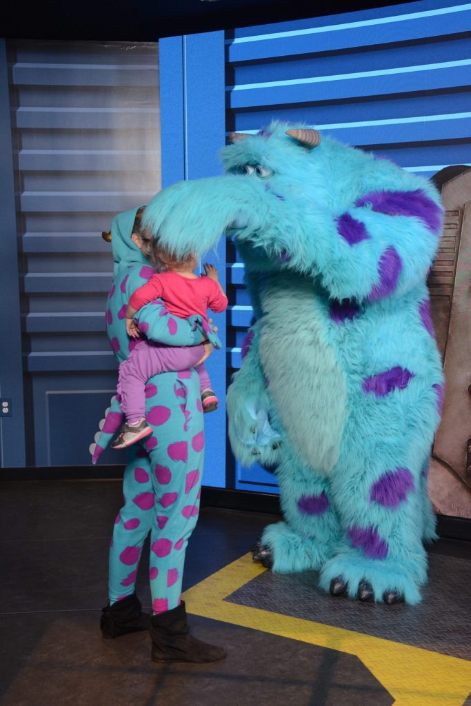 Meet Monsters Inc Characters at Disney #NowMoreThanEver