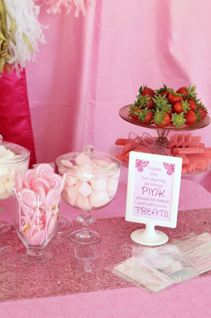 Pinkalicious Pink Candy Food Ideas
