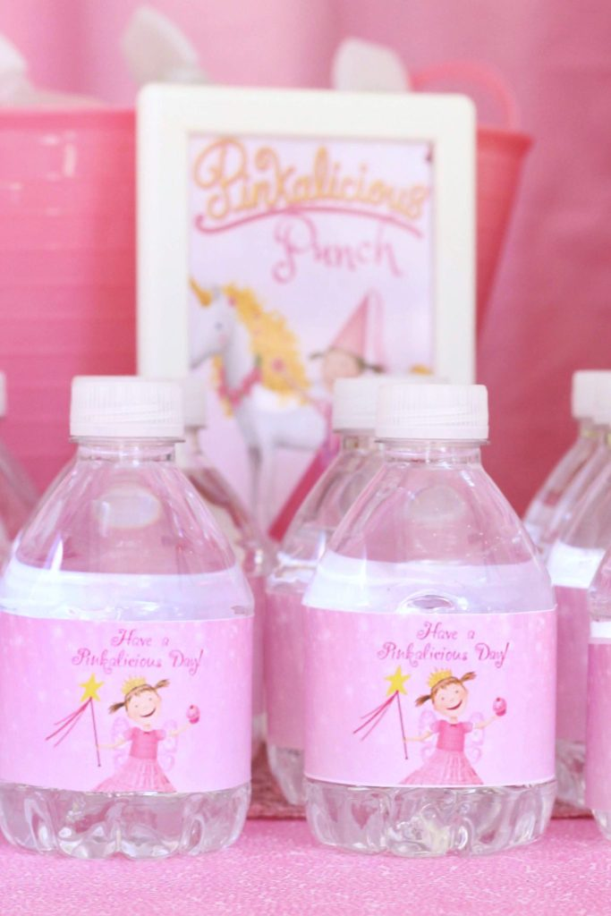 Pinkalicious Water Bottle Labels Free Printable