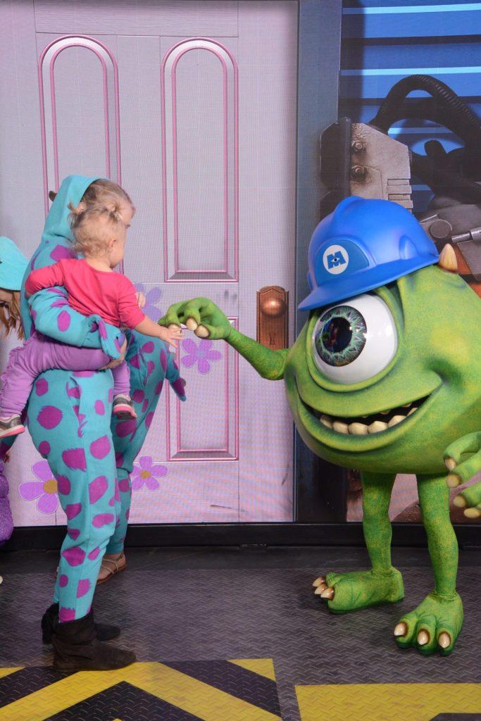 Meet Monsters Inc Characters at Disney