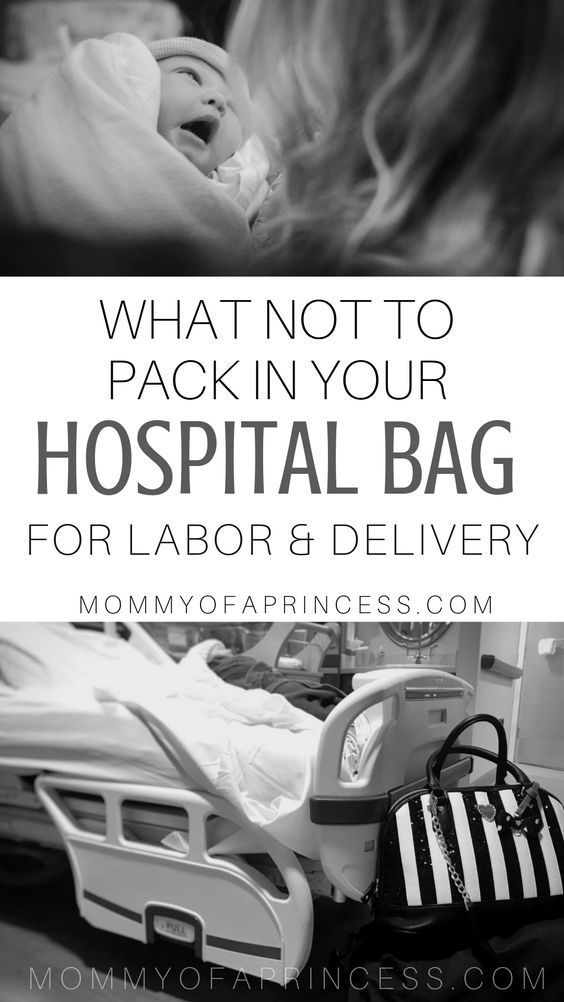 what to pack in hospital bag for labor and delivery and what NOT to pack for labor