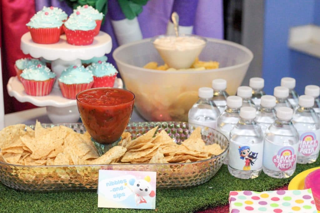 True and the Rainbow Kingdom Party Food Ideas Nibbles & Sips