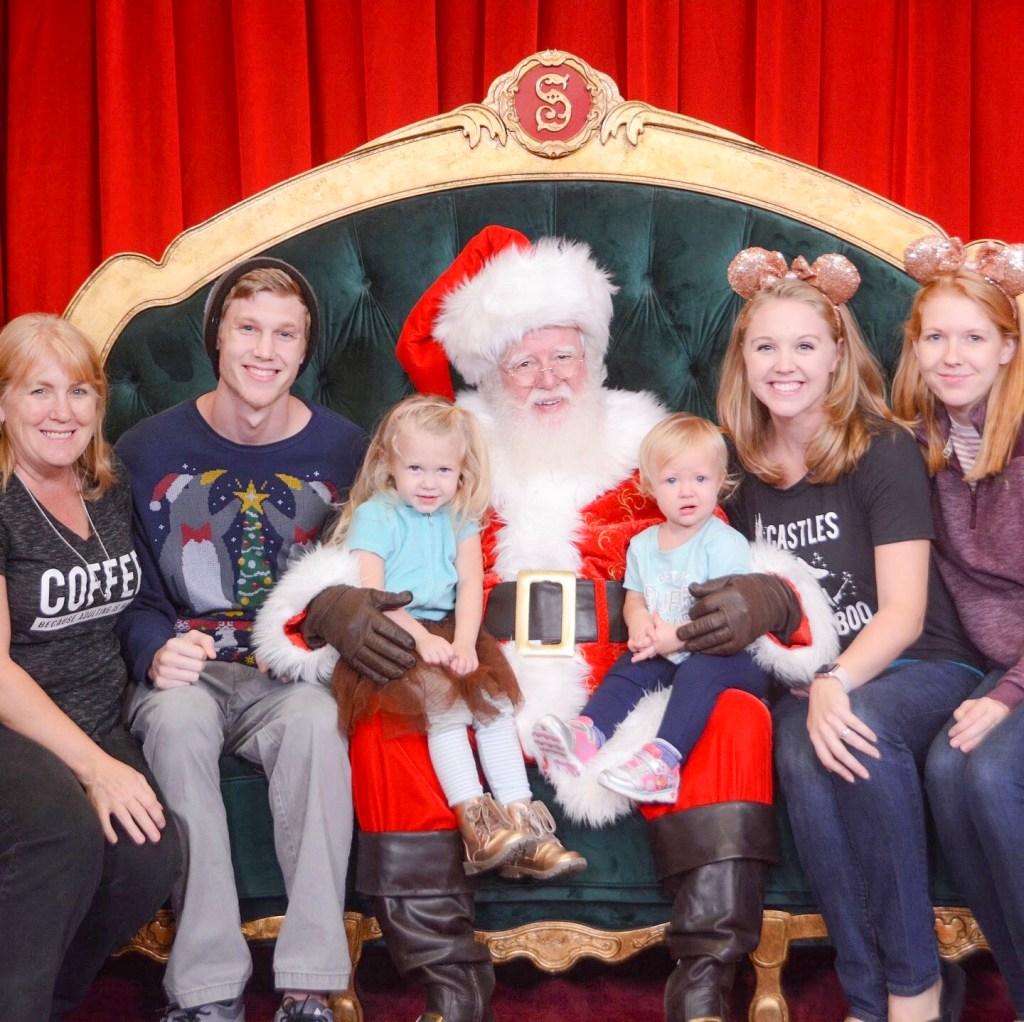 Santa at Hollywood Studios