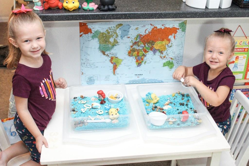 Disney Themed Kindergarten and Preschool Activities at Home