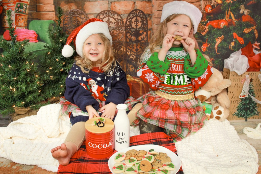 Christmas things to do with kids: Baking Cookies