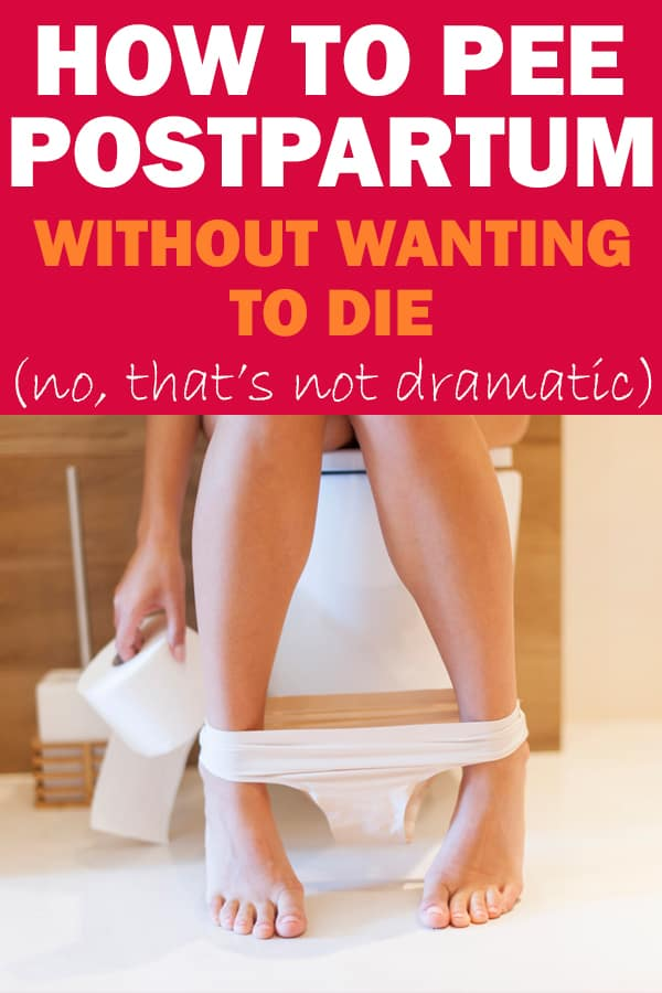 painful postpartum peeing