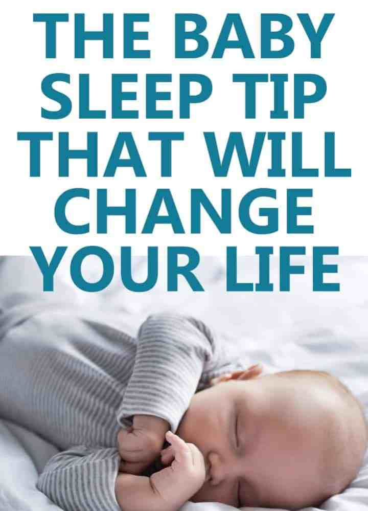 the baby sleep tip that will change everything