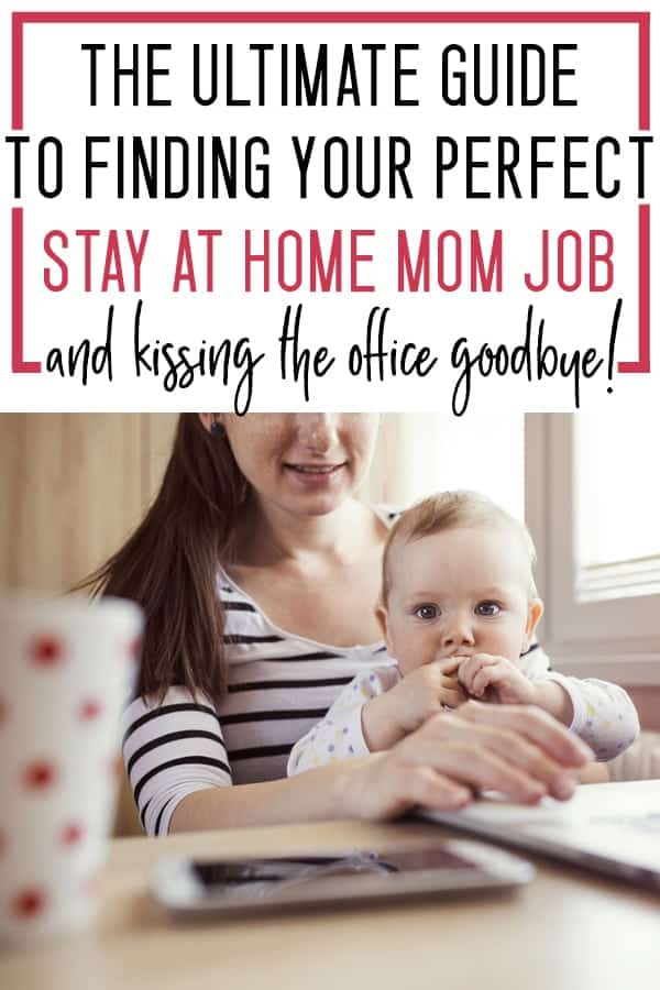 legitimate stay at home mom jobs