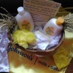 #IbalikAngFeeling ng Healthy Skin with Johnson's Milk & Oats Baby Bath and Lotion