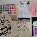 #PlanningForPleasure: Inspired Brush Lettering Workshop by Artsy Margot