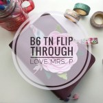 B6 TN Flip Through: Love Mrs. P