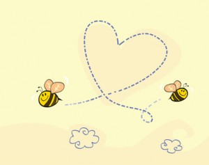 bees heart