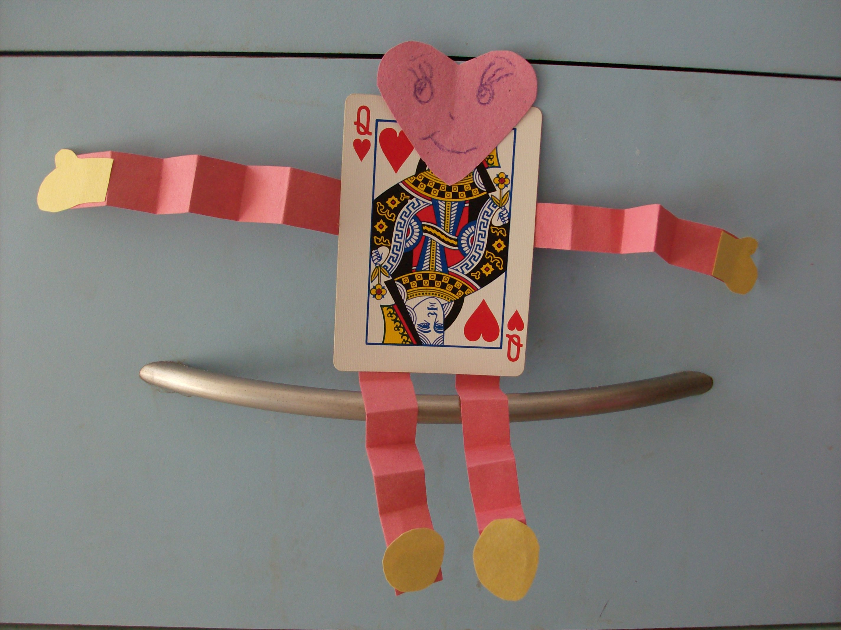 Kids Valentine S Day Crafts Deck Of Cards Playing Card