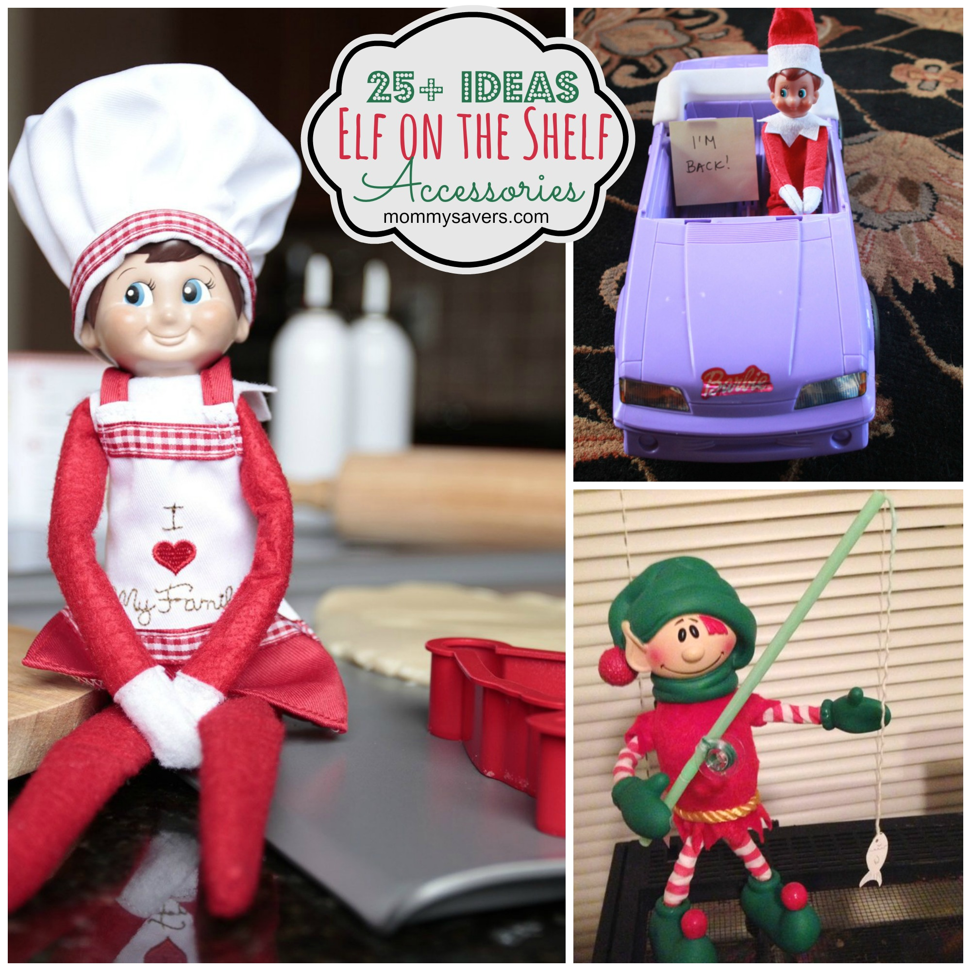Elf On The Shelf Accessories