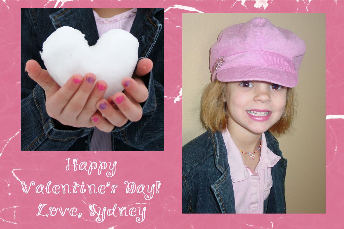 Photo Crafts Homemade Valentine Card Idea Mommysavers